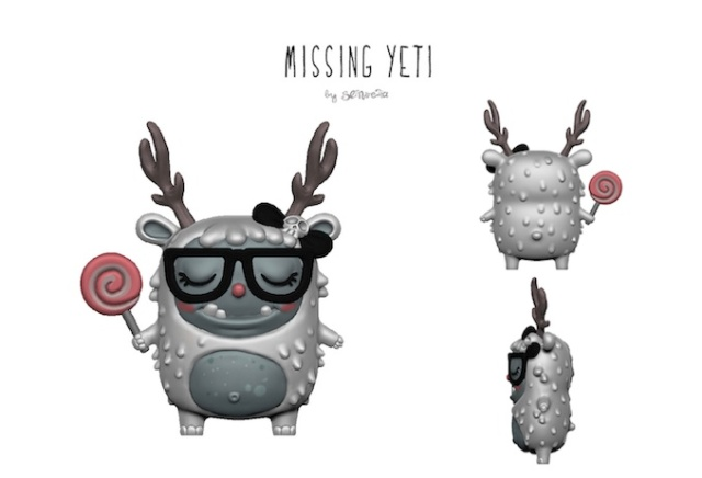 Missing Yeti 3d product image